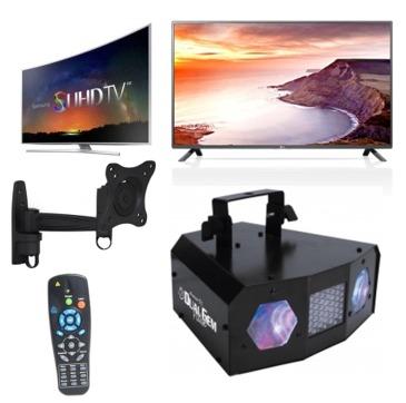 Billigste LED TV HiFi Netflex