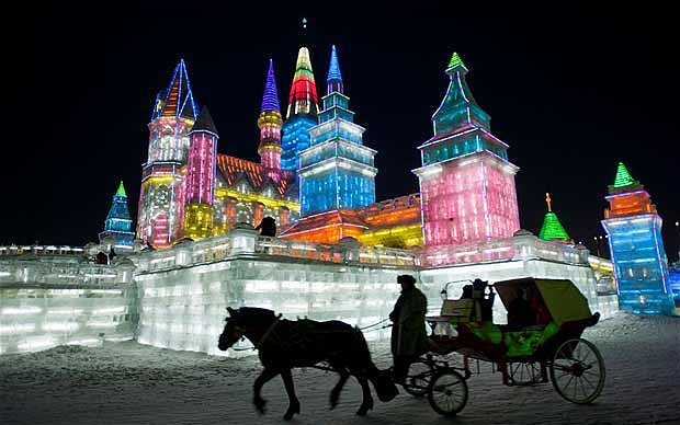 Harbin City Ice Festival China