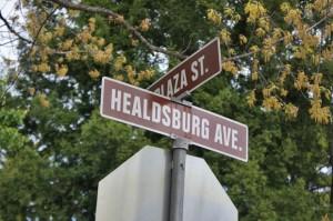 Healdsburg city Sonoma County