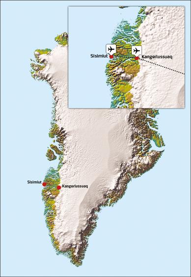Kangerlussuaq Søndre Strømfjord Western Greenland
