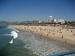 Santa Monica Beach CA