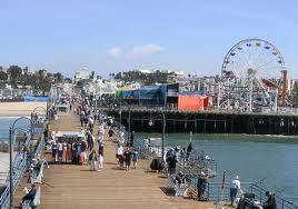 Santa Monica Pier CA