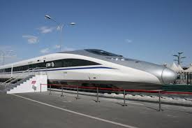 the fastest train in the world China