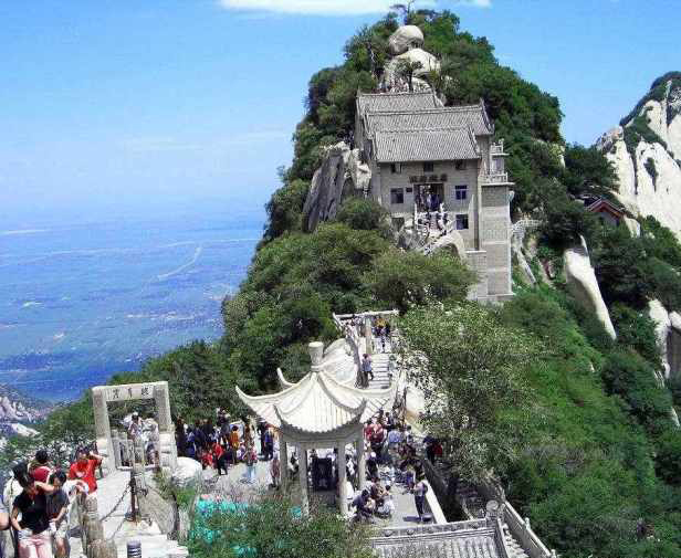 Mt. Huashan shaanxi China