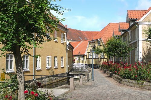 the Old Town Bogense Denmark