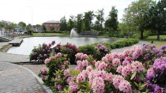 Helsinge pond