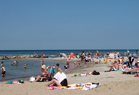Liseleje beach Denmark