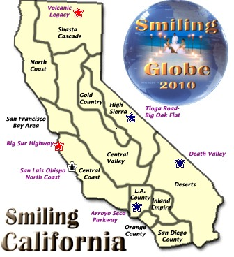 Visit California Map