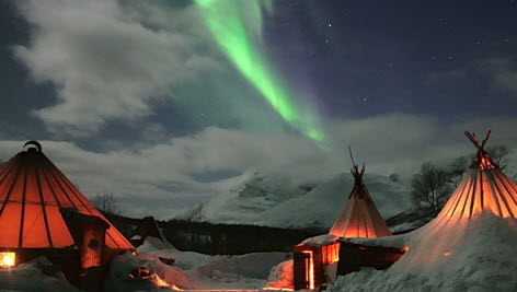 Northern light over Norway