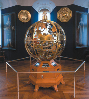 the Gottorp celestial globe Denmark