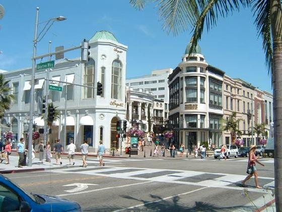 Los Angeles Rodeo Drive Beverly Hills California