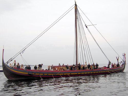 Havhingsten Roskilde vikingeskibsmuseum