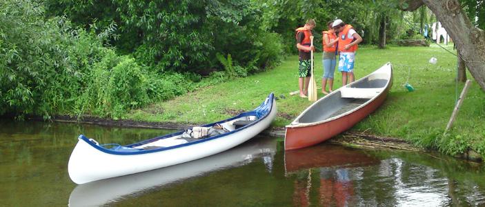 Canoeing Denmark