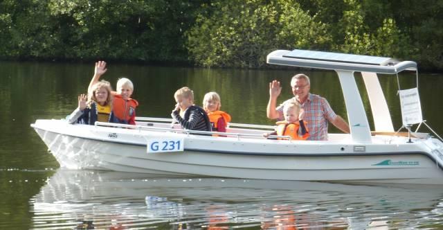 solar panels boat Denmark
