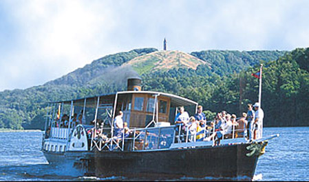 Hjejlen Silkeborg is the oldest original paddle steamer in the world