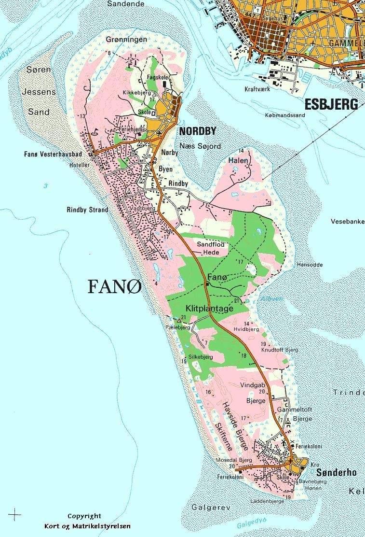 Fanoe Visit Fan South West Jutland Southern Denmark Denmark Fan