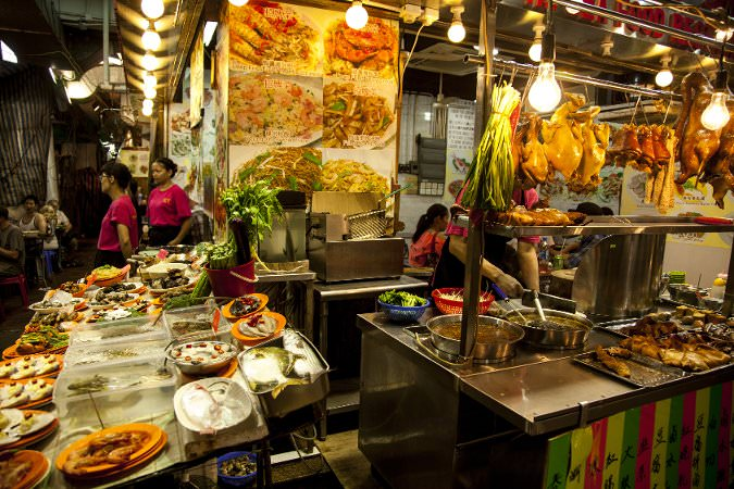 Hong Kong street food China