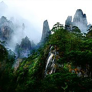 Sanqing Mountain East China