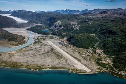 South Greenland Narsarsuaq air base