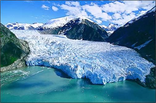Northern Greenland Iceberg
