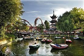 Tivoli fun Park Copenhagen Denmark