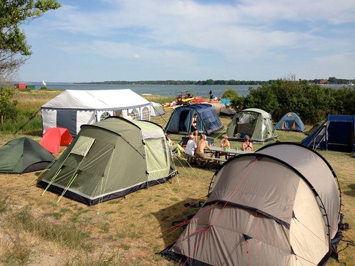 sølager strand camping Hundested