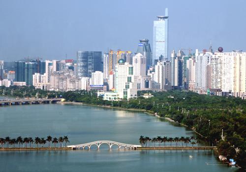 Nanning Visit Guangxi South Central China China Asia