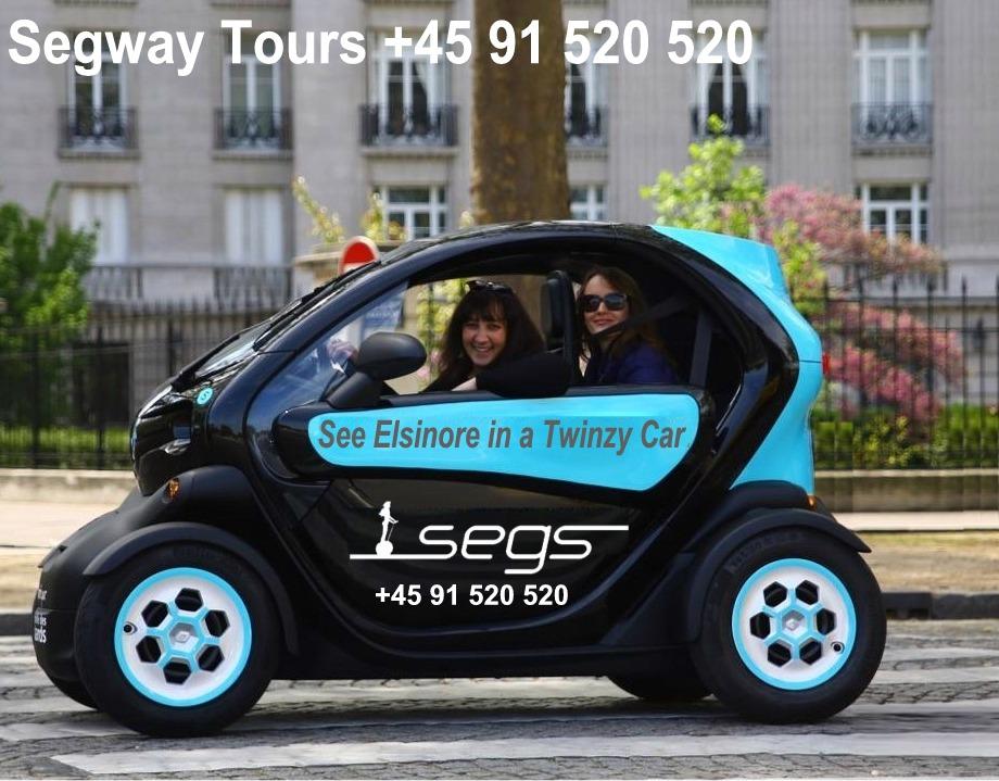Lej en Twizy hos Segway Tours Helsingør