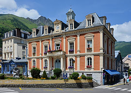 The town hall of Cauterets