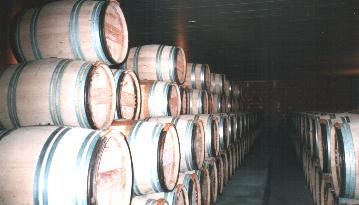 Chateaux - and barrels also everywhere.