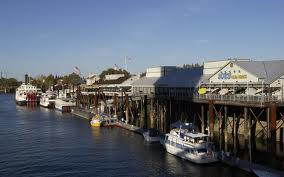 Old Waterfront Sacramento California