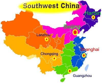 Southwest China China