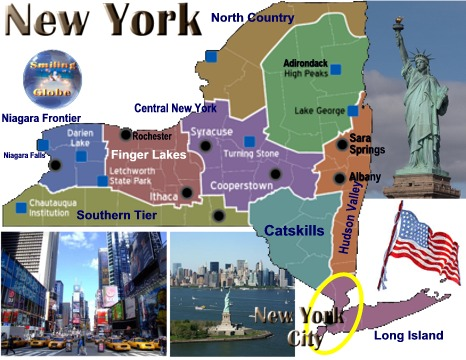 attractions New York City New York State
