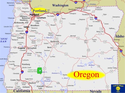 Oregon Oregon