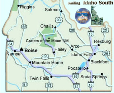 Southern Idaho Where to Go Largest City Boise residents 205,314