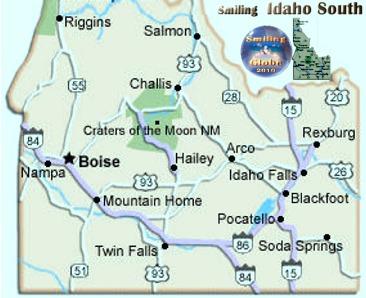 Central Idaho Idaho