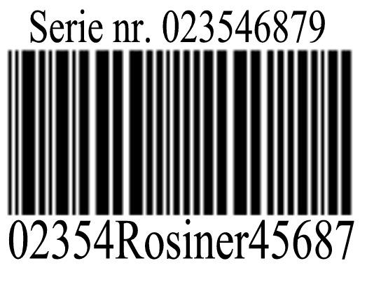 Stregkode systemer Stregkoder i nummer serie
