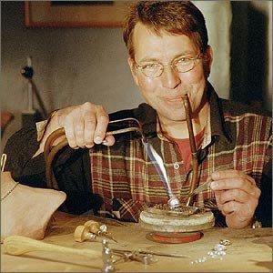 jewelry designer Flemming Scheldt Guldsmed