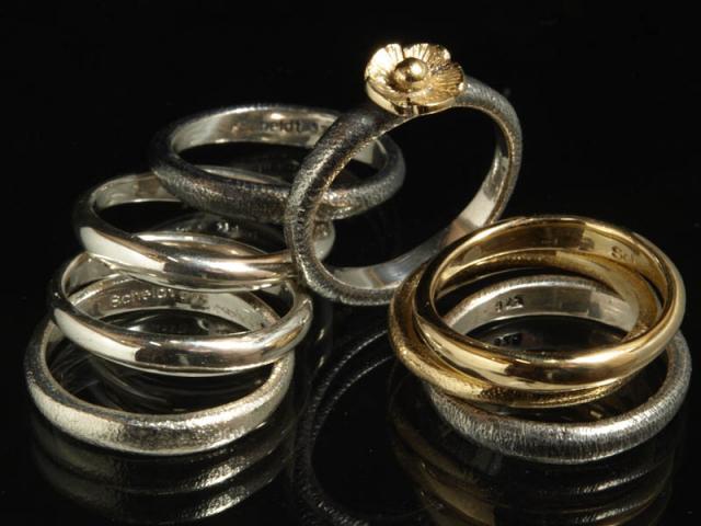 Jewelry designer Flemming Scheldt Guldsmed smykker