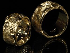 jewelry designer Flemming Scheldt Guldsmed Guld Smykker