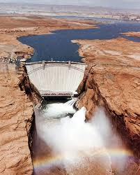 Colorado River Glen Canyon Dam Grand Canyon Arizona