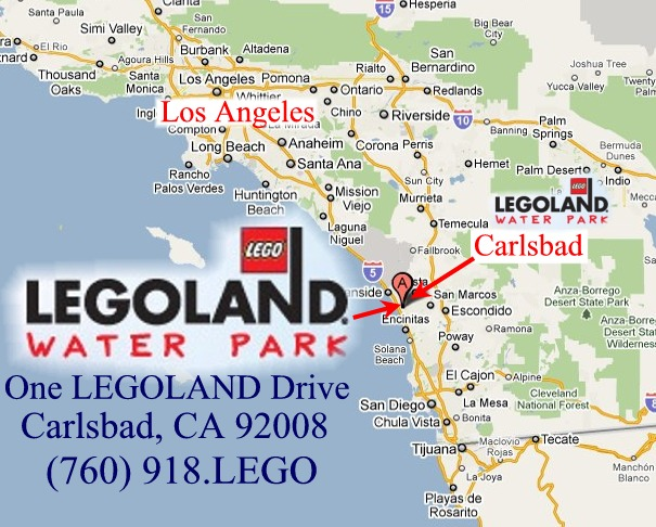 Legoland waterpark LEGO California