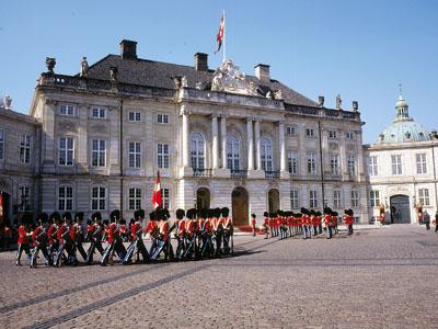 Amalienborg Castle Copenhagen Denmark