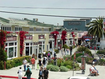 Visit Cannery Row shopping California