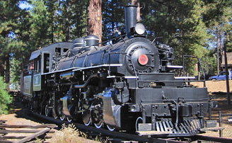 Flagstaff train and railroad