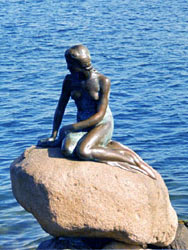 The Little Mermaid Copenhagen Denmark Danmark