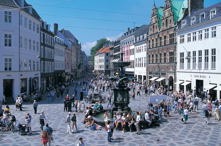 Strøget København Danmark