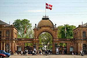Tivoli Gardens amusement park Copenhagen