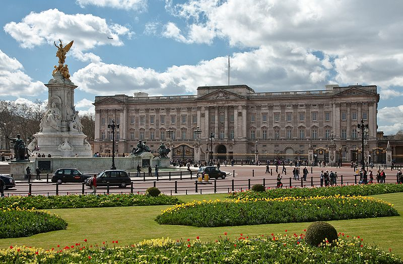 Buckingham Palace London UK.