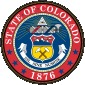 Colorado Seal United States.